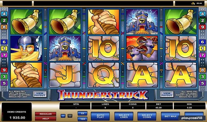 Thunderstruck Casinotopp