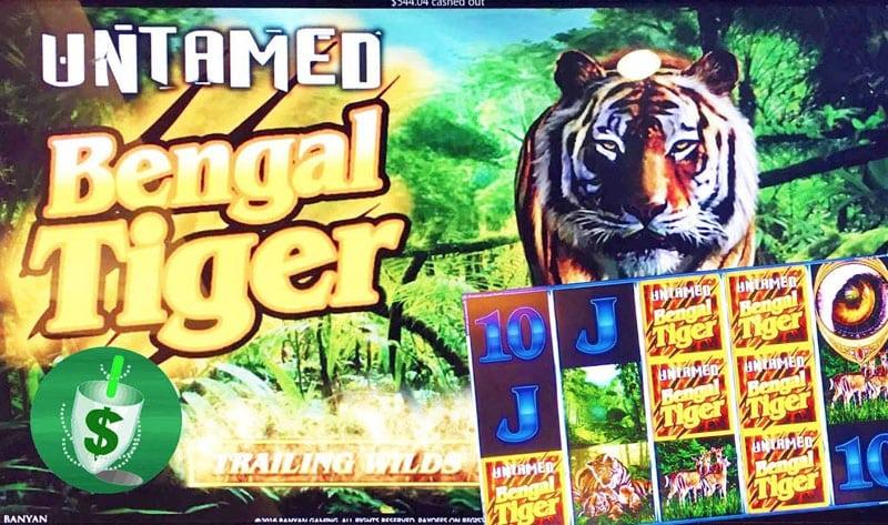 Untamed Bengal Tiger Logo