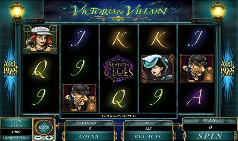 Victorian Villain Logo