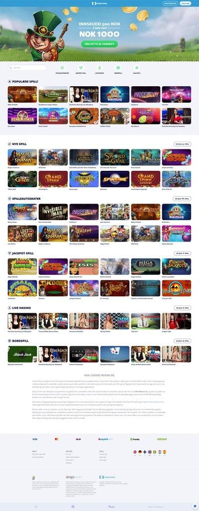CasinoRoom Casino Screenshot