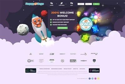 Happy Hugo Casino Screenshot