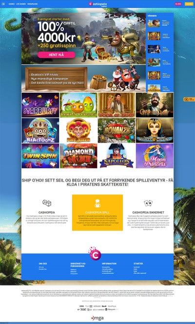 Cashiopeia Casino Screenshot