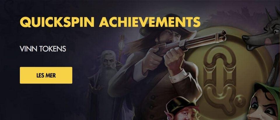 Bethard Quickspin Achievements - Banner
