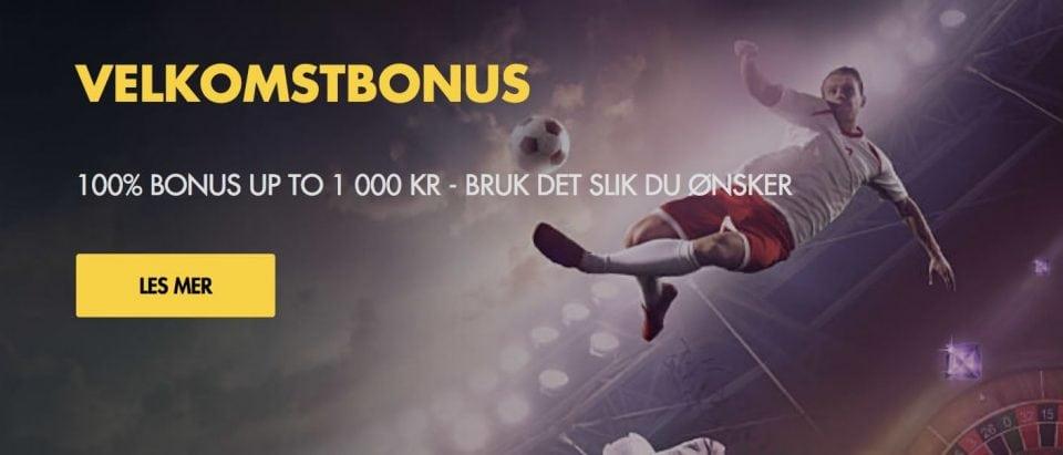 Bethard Velkomstbonus - Banner
