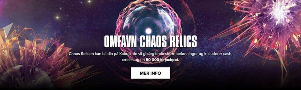 Kaboo 50000 kr - Banner
