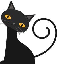Fredag 13 svart katt