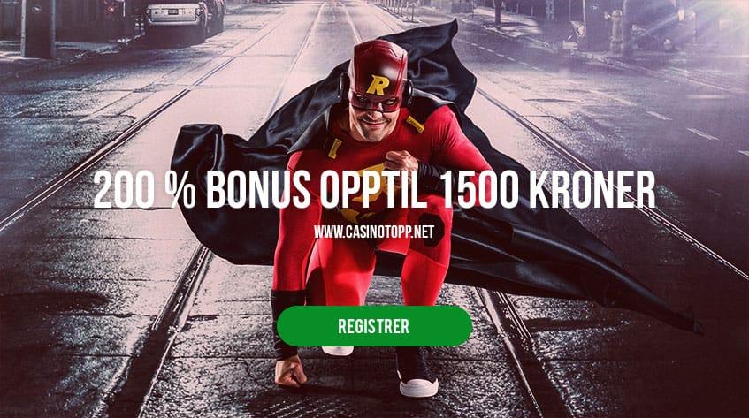 Rizk Casino | 200 % bonus opptil 1500 kroner