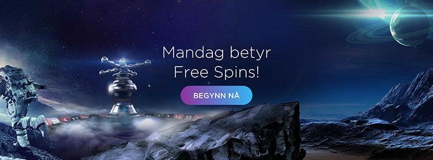 Genesis Casino Free Spins - Banner