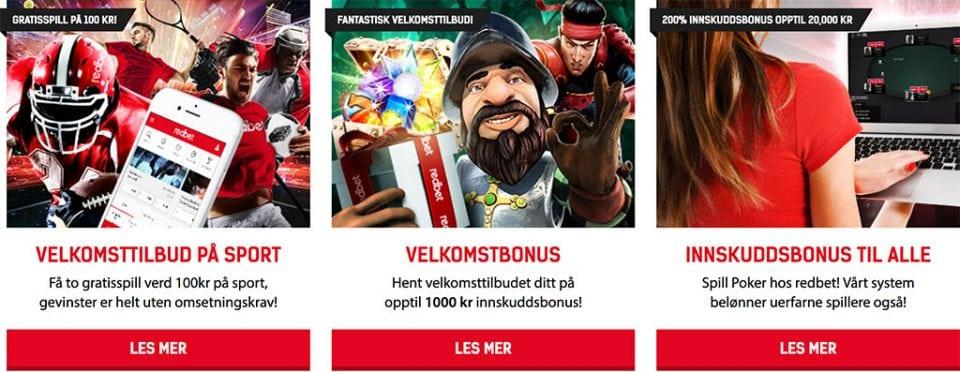 Redbet Casino Kampanjer