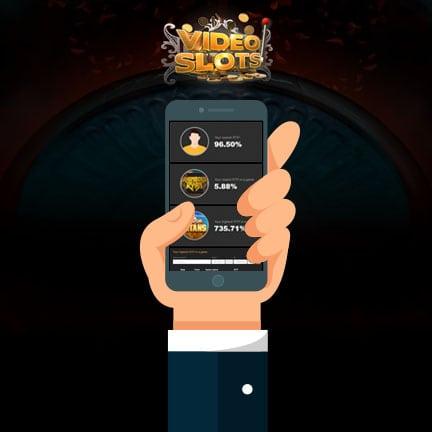 Videoslots lanserer «Min RTP» Mobile