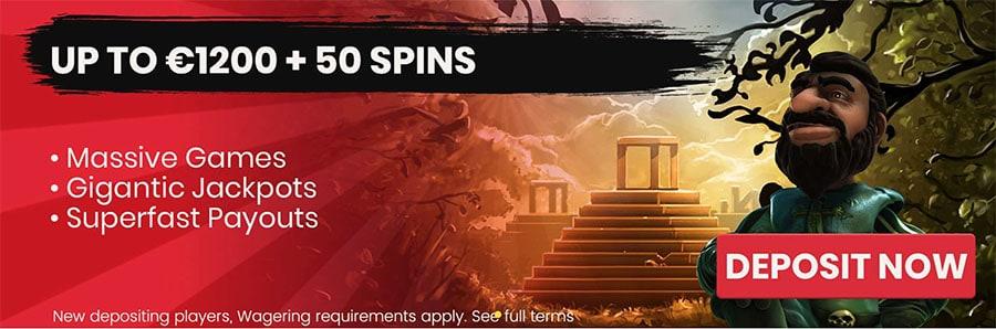 Goliath Casino - Banner