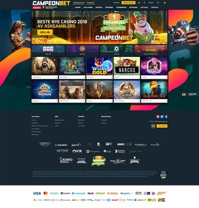 Campeonbet Casino Screenshot