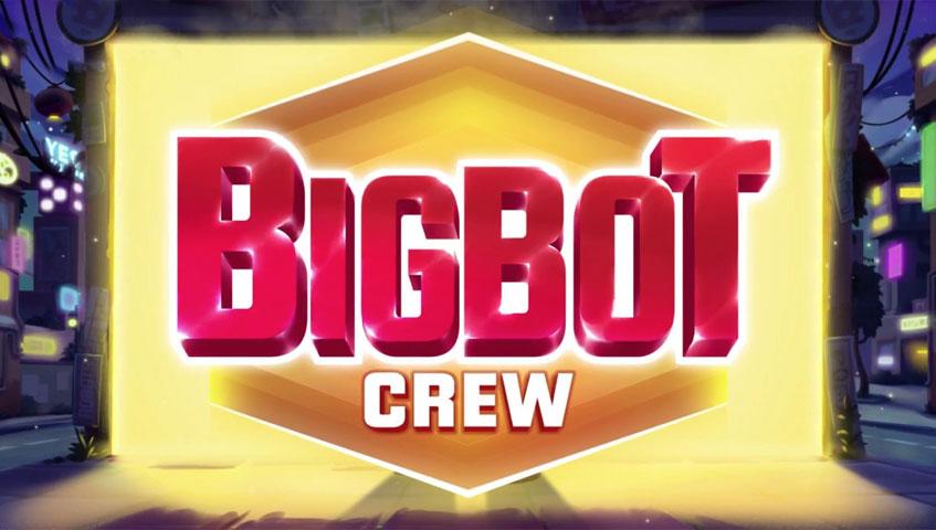 Nyheten Big Bot Crew kan du bare spille hos Frank & Fred Casino | Casinotopp
