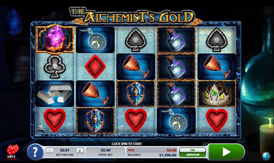 The Alchemist's Gold Logo