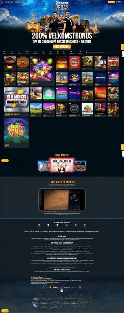 Dream Vegas Screenshot