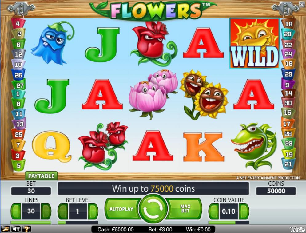 Flowers Slot | CasinoTopp