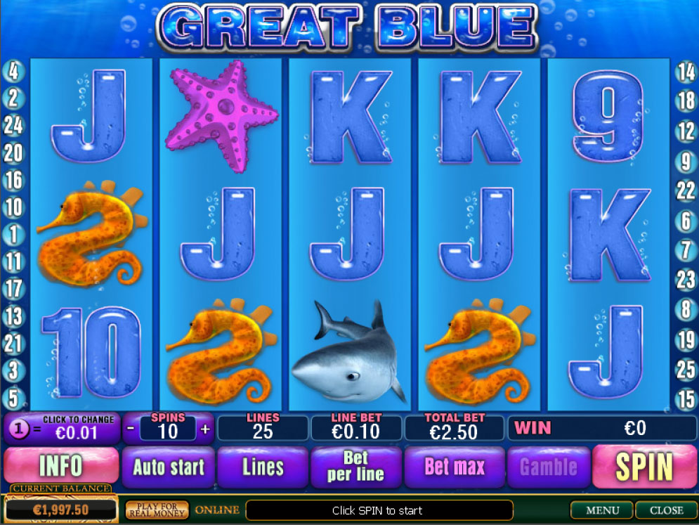 Great Blue Slot | CasinoTopp