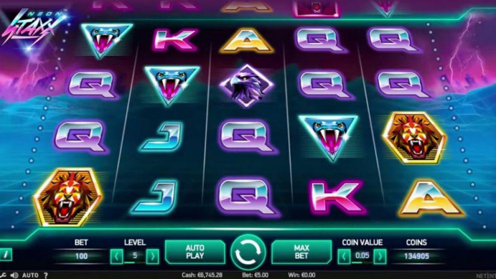 Neon Staxx Slot | CasinoTopp
