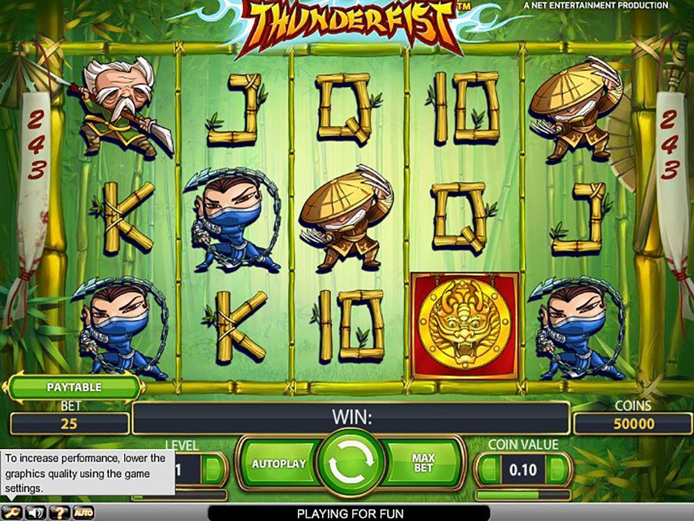 Thunderfist Slot | CasinoTopp