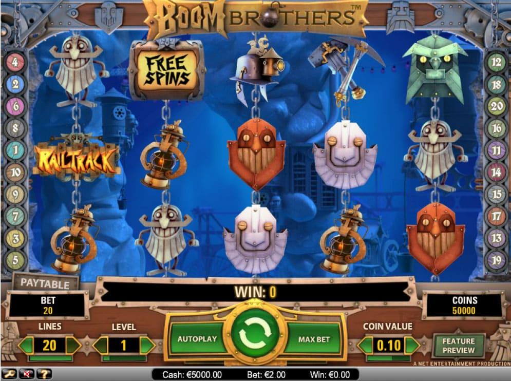 Boom Brothers Slot | CasinoTopp