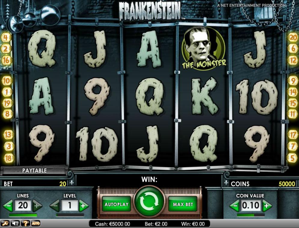 Frankenstein Slot | CasinoTopp