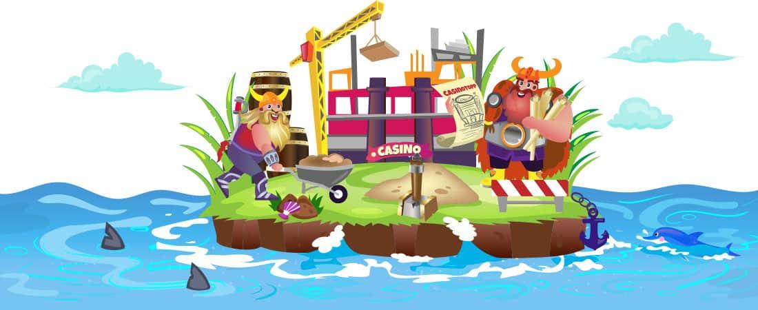 Vår historie - Banner   CasinoTopp