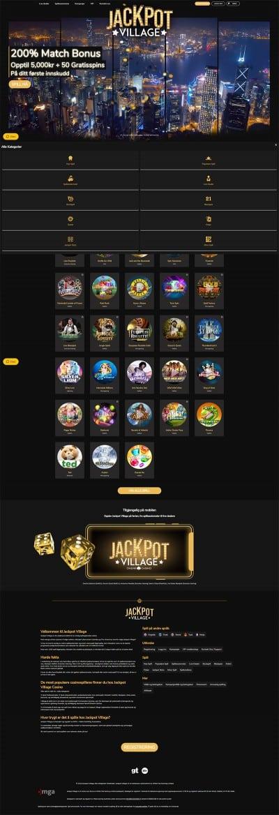 JackpotVillage Screenshot