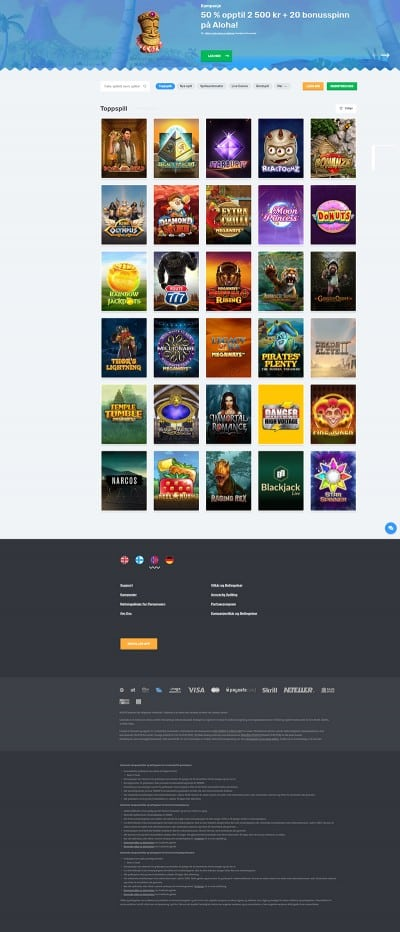 Casilando Casino Screenshot