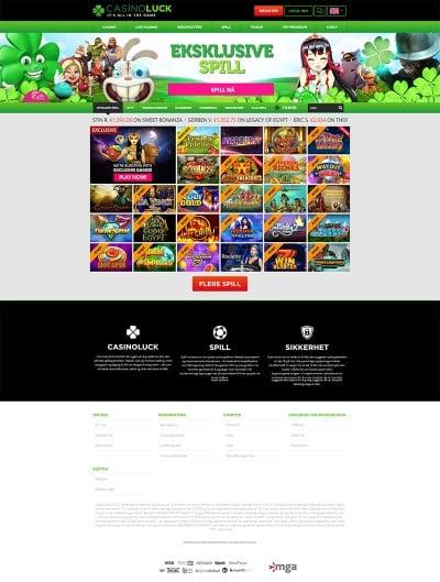 CasinoLuck Screenshot