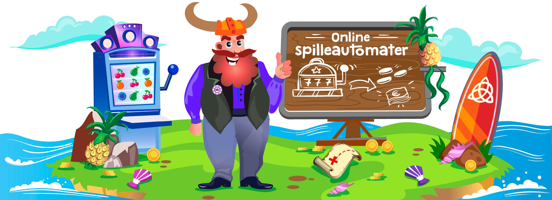 Kurs 3: Online spilleautomater