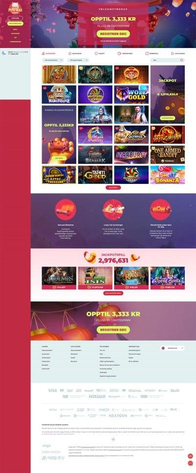 Maneki Casino Screenshot