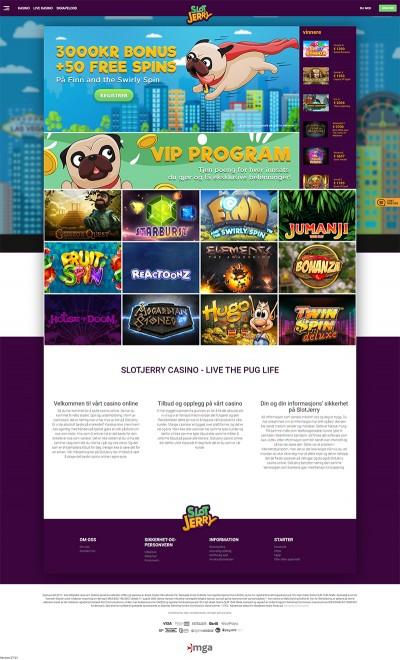SlotJerry Casino Screenshot