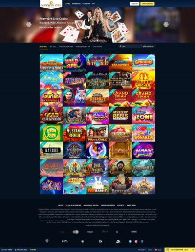 ViggoSlots Casino Screenshot