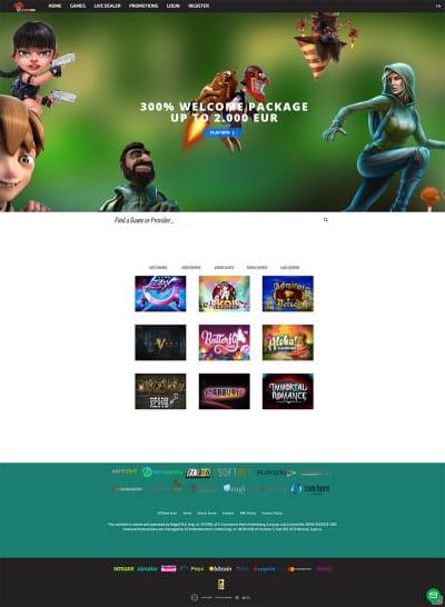 Jokerino Casino Screenshot