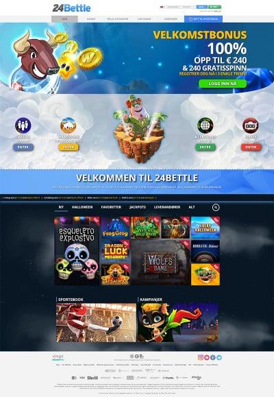 24Bettle Casino Screenshot