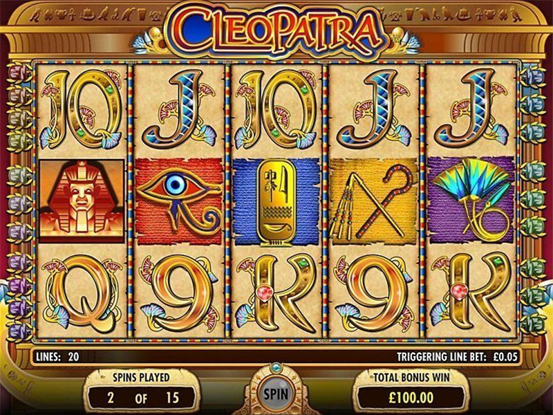 7. Cleopatra - CasinoTopp
