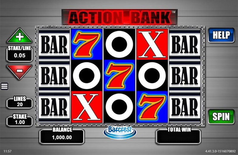 Action Bank Slot Screenshot - CasinoTopp