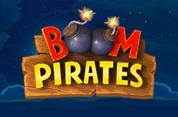 Bli med på et eksplosivt sjøslag i spilleautomaten Boom Pirates