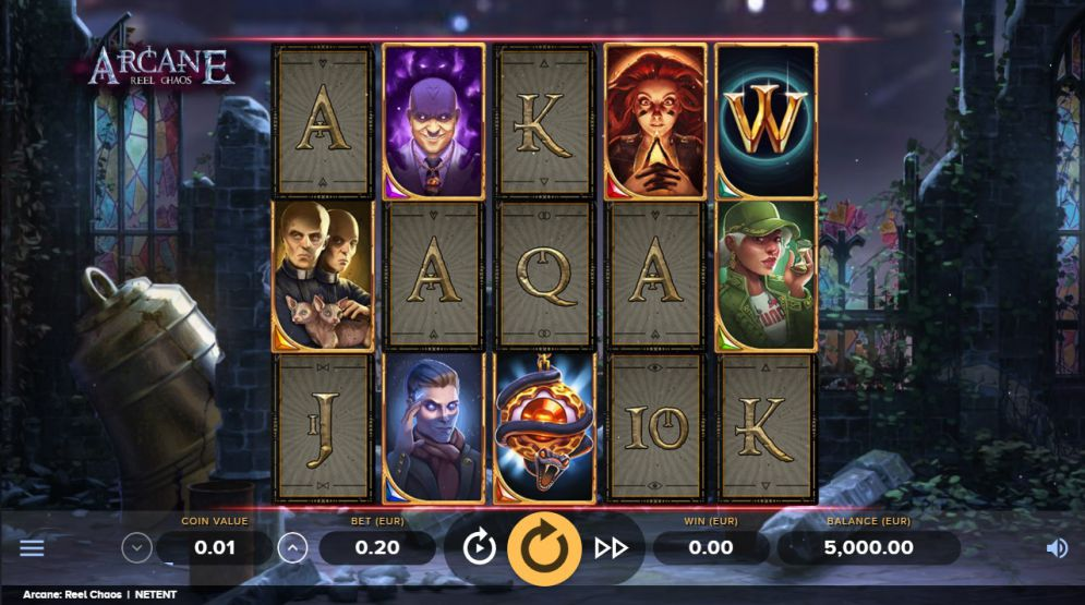 Arcane Reel Chaos Slot Images - CasinoTopp
