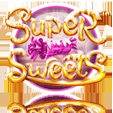 Betsoft frister med godteri i spilleautomaten Super Sweets element01 - CasinoTopp