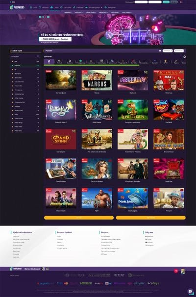 Betzest Casino Screenshot