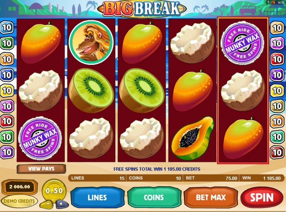 Big Break Slot Images - CasinoTopp