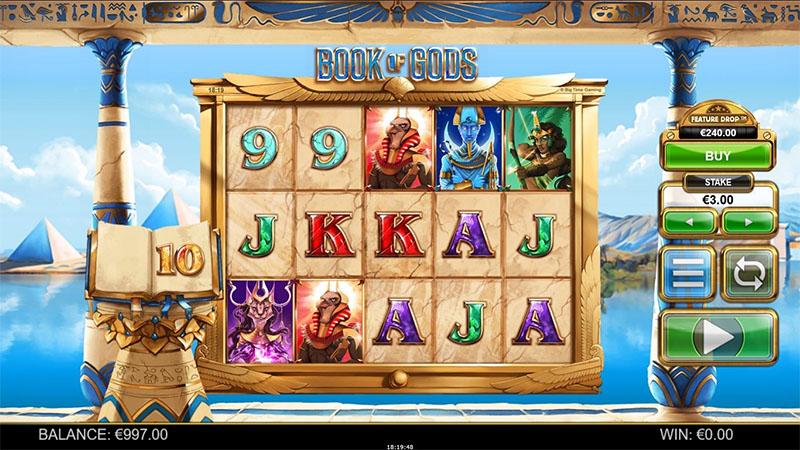 Book of Gods Slot Screenshot - CasinoTopp