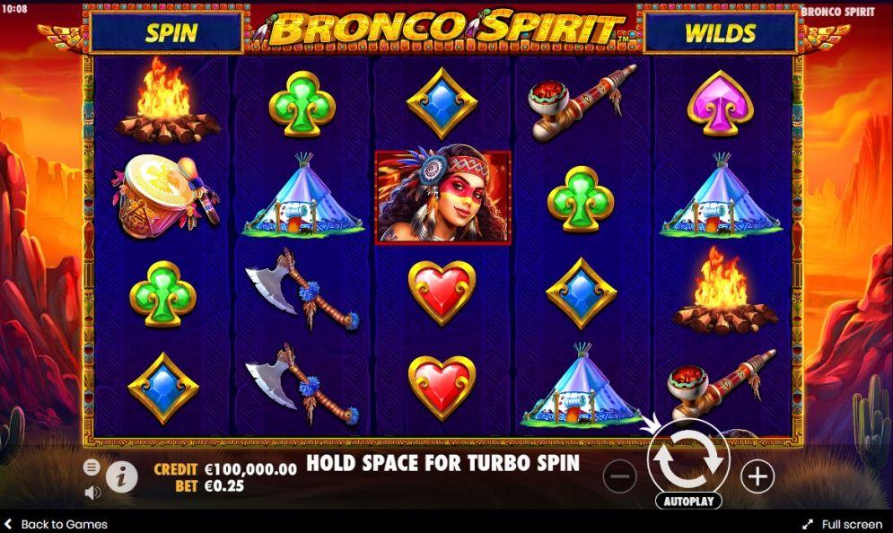 Bronco Spirit Slot - CasinoTop