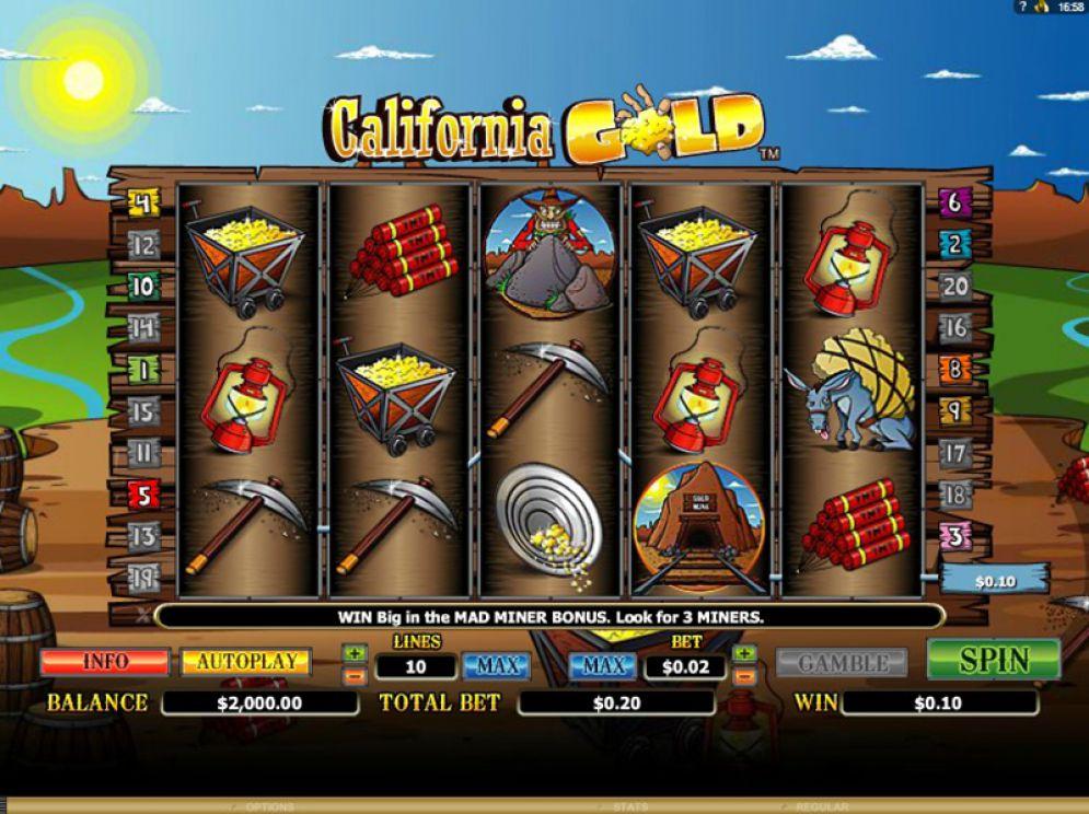 California Gold Logo