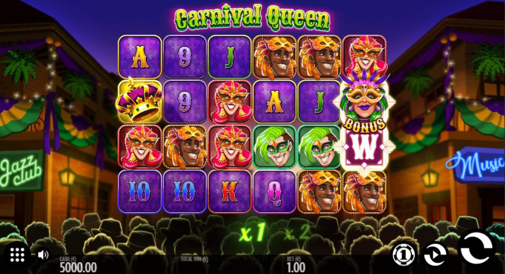 Carnival Queen Logo