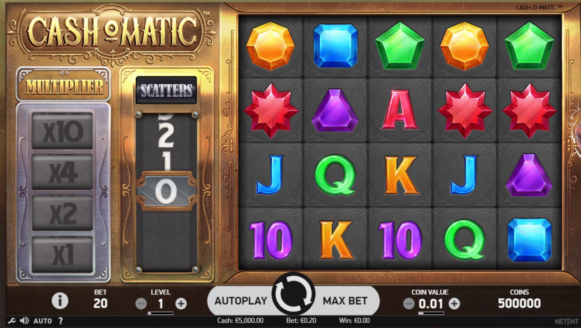 Cash-O-Matic Slot Images - CasinoTop