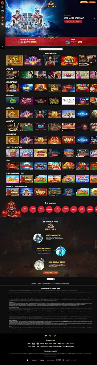 Casino Masters Screenshot