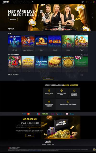 Casino Universe Screenshot