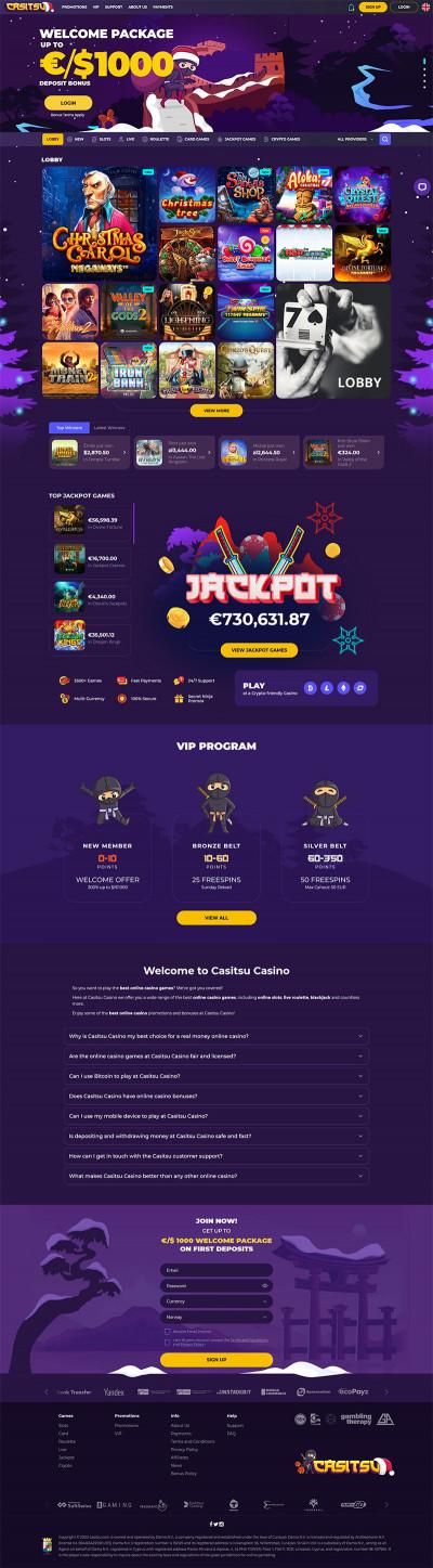 Casitsu Casino Screenshot
